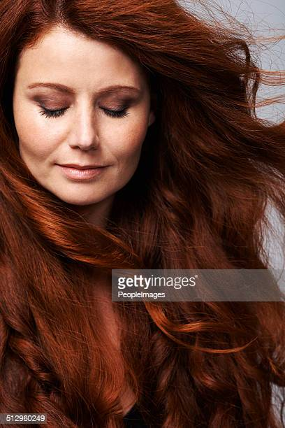 her hair is full of life - thick white women stock photos and pictures