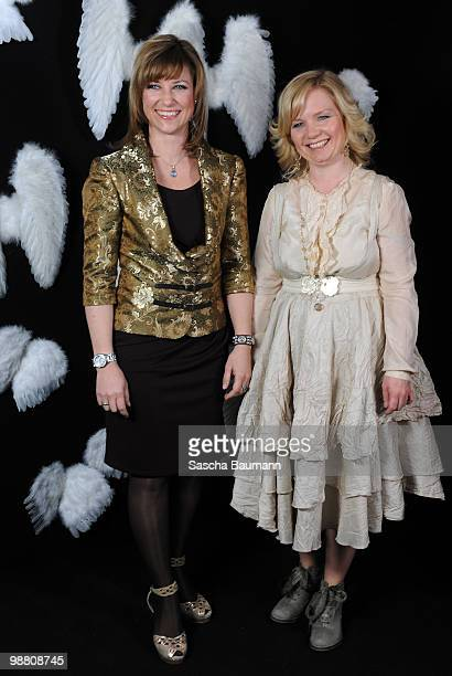 Her Highness Princess Martha Louise and Elisabeth Samnoy attend the STARVISIT at the Burda Medien Park Verlage on May 3, 2010 in Offenburg, Germany.
