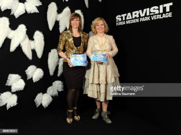 Her Highness Princess Martha Louise and Elisabeth Samnoy attend the STARVISIT at the Burda Medien Park Verlage on May 3 2010 in Offenburg Germany
