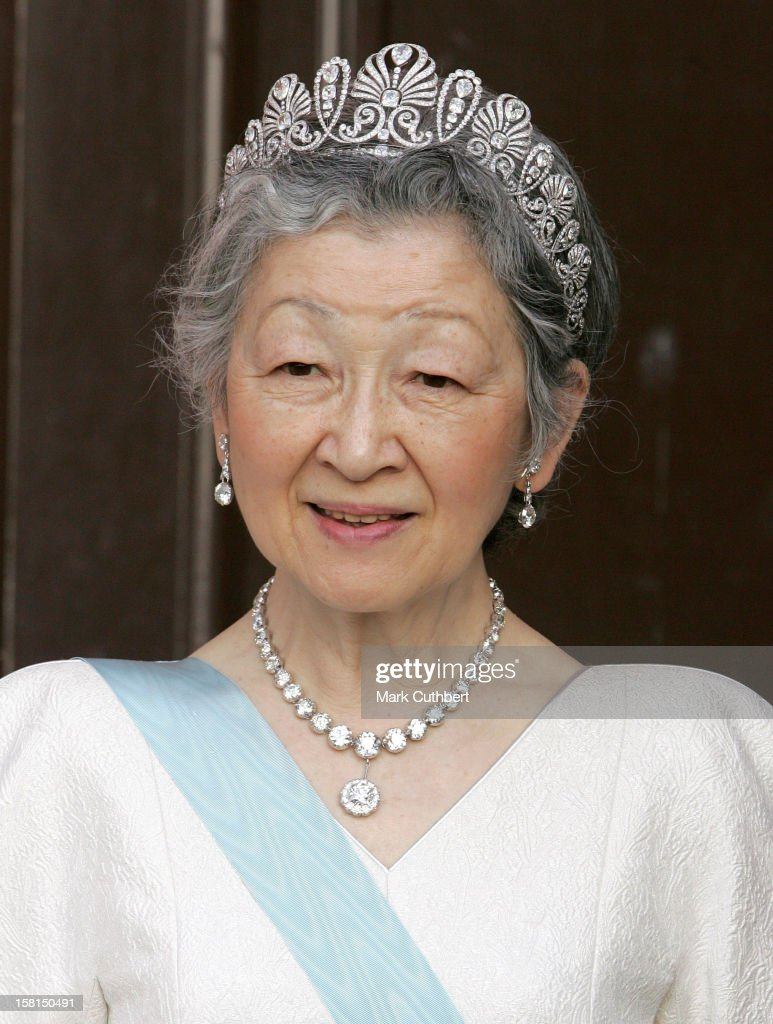 Her Imperial Majesty Empress Michiko Of Japan Attends The Tercentenary Birthday Celebrations For Carl Linnaeus In Sweden.Banquet At Uppsala Castle .