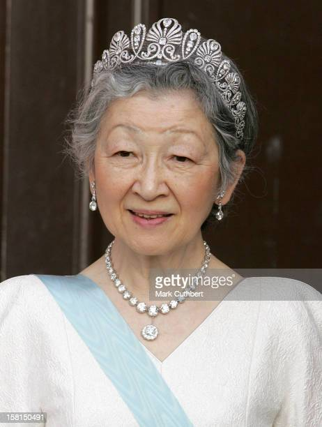 Her Imperial Majesty Empress Michiko Of Japan Attends The Tercentenary Birthday Celebrations For Carl Linnaeus In SwedenBanquet At Uppsala Castle