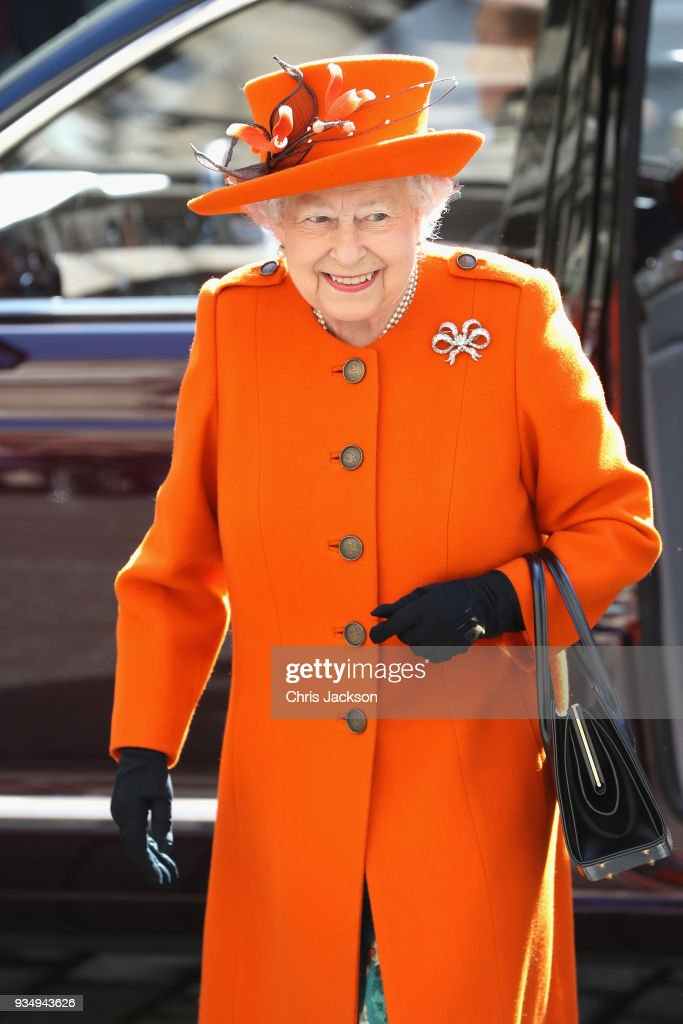 The Queen Visits The Royal Academy Of Arts : News Photo