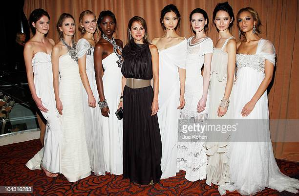 Her Majesty Queen Rania Al Abdullah attends the 5th Important Dinner for Women at Mandarin Oriental Hotel on September 20 2010 in New York City