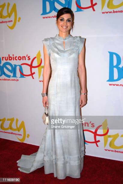 Her Majesty Queen Rania Al Abdullah Of Jordan during Rubicon's 'Ben and Izzy' Gala with Special Host Her Majesty Queen Rania AlAbdullah of Jordan at...