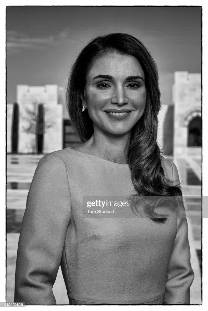 Queen Rania, Sunday Times magazine UK, April 30, 2017