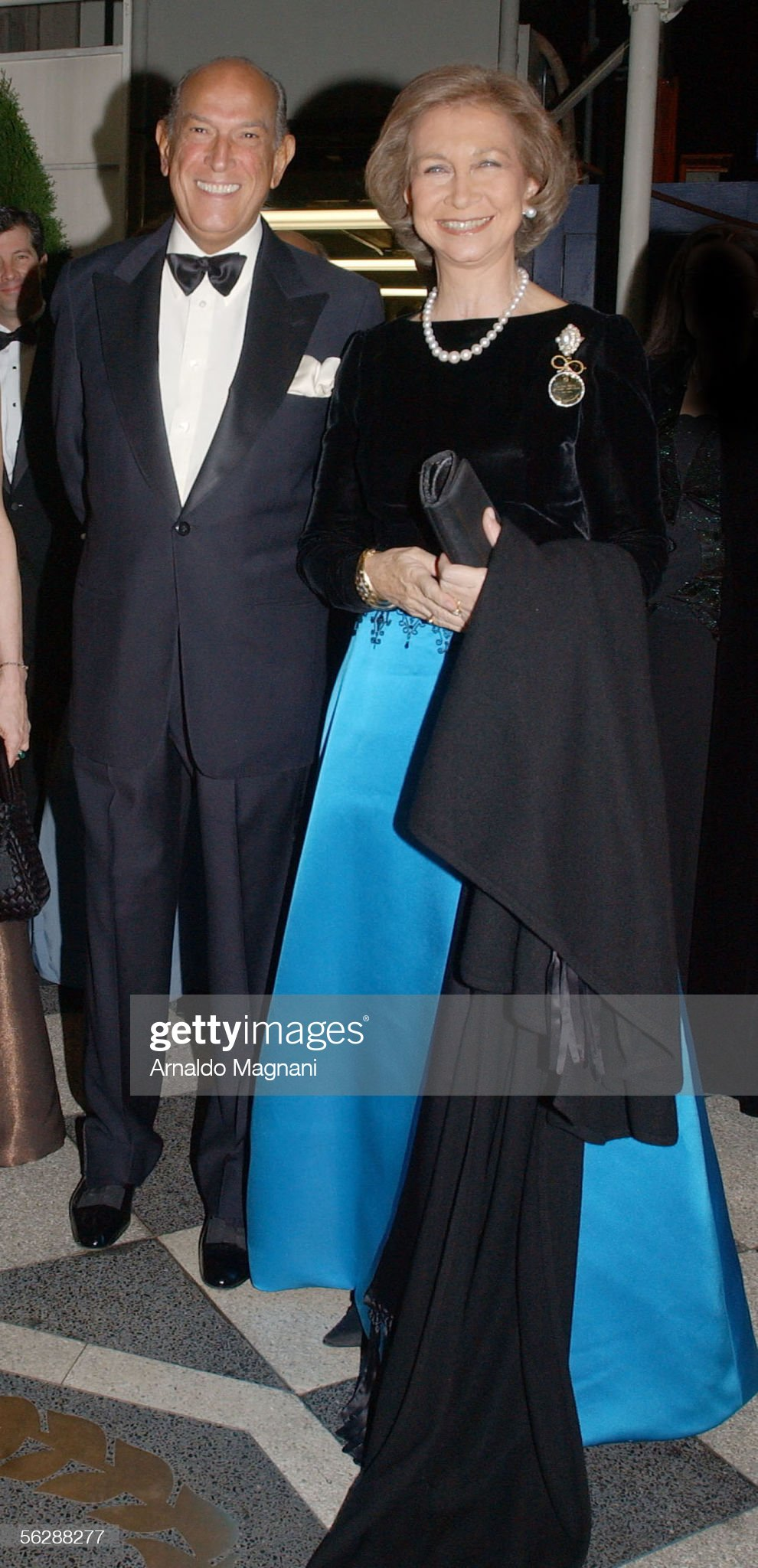 Queen Sofia Spanish Institute Gold Medal Gala 2005 - Arrivals : News Photo