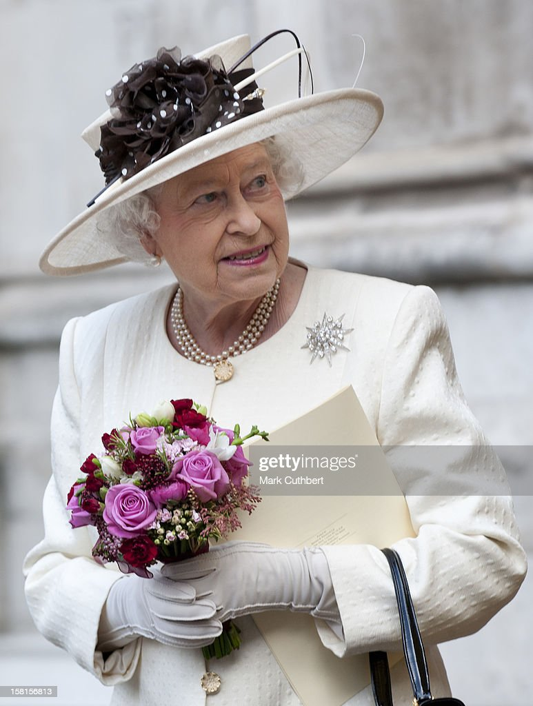 Royals Visit Westminster Abbey - London : News Photo