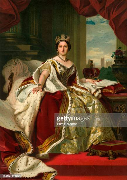 Her Majesty The Queen in Her Robes of State' Queen Victoria celebrated her Diamond Jubilee Her reign of 63 years and seven months was longer than...