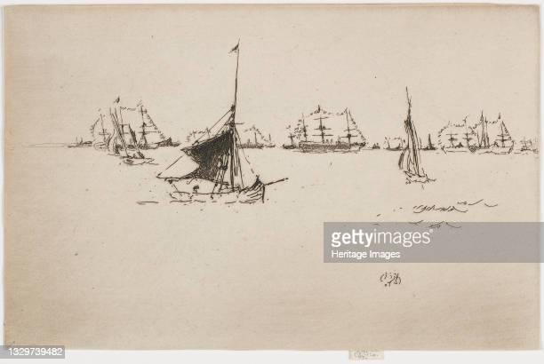 Evening, 1887. Artist James Abbott McNeill Whistler.