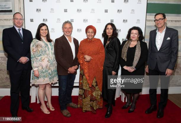 Her Majesty's General Consul in New York Trade Commisioner for North America Anthony Phillipson Executive Director BBC America Courtney Thomasma...