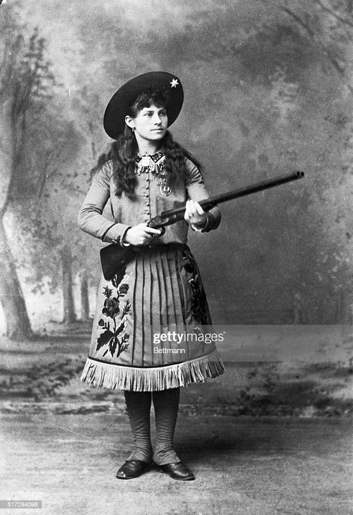 Her Name Has Become A Byword Annie Oakley Who Did A