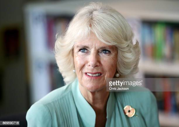 Her Royal Highness, Camilla, Duchess of Cornwall visits The International School at ParkCity on November 3, 2017 in Kuala Lumpur, Malaysia. Prince...