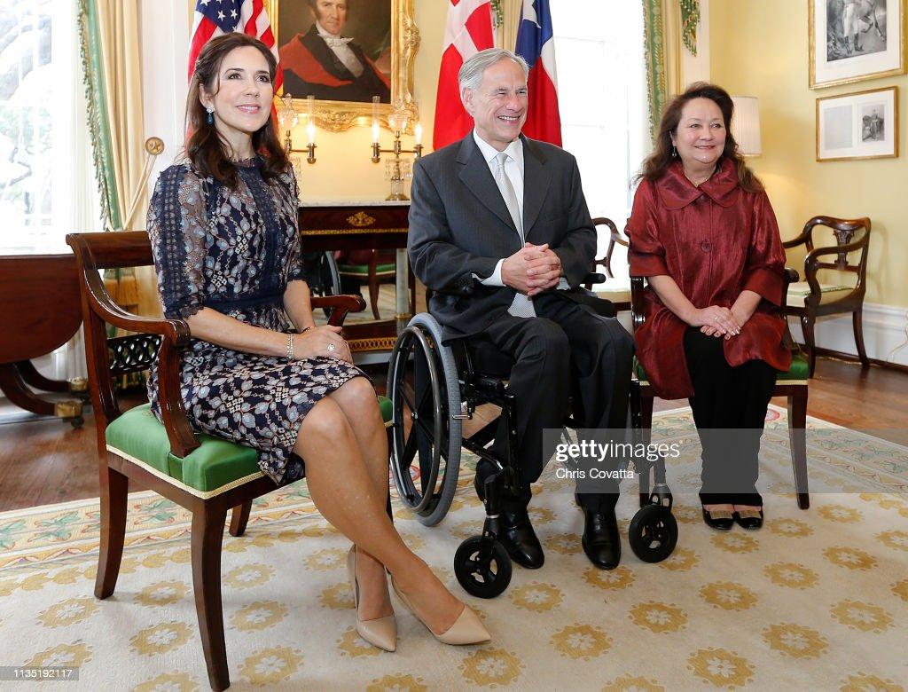 Danish Royal Visit : News Photo