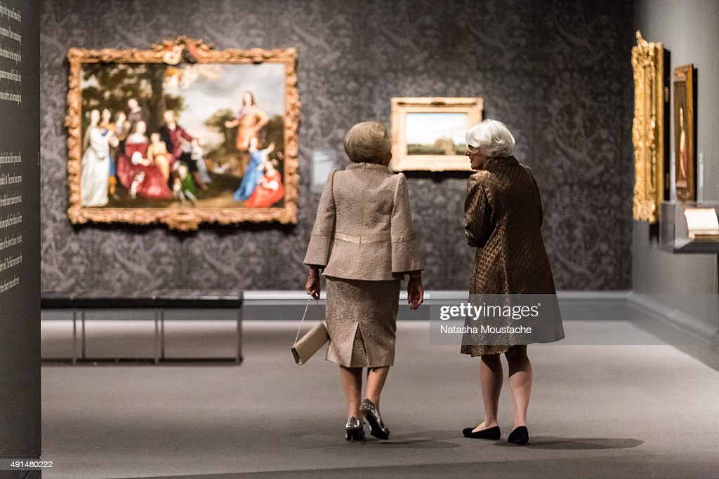 Her Royal Highness Princess Beatrix Of the Netherlands Visits Museum Of Fine Arts Boston : News Photo