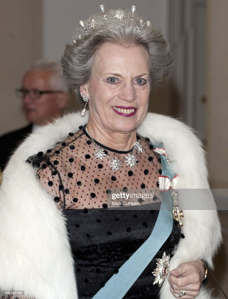 Danish Royal Family At Banquet - Copenhagen : News Photo