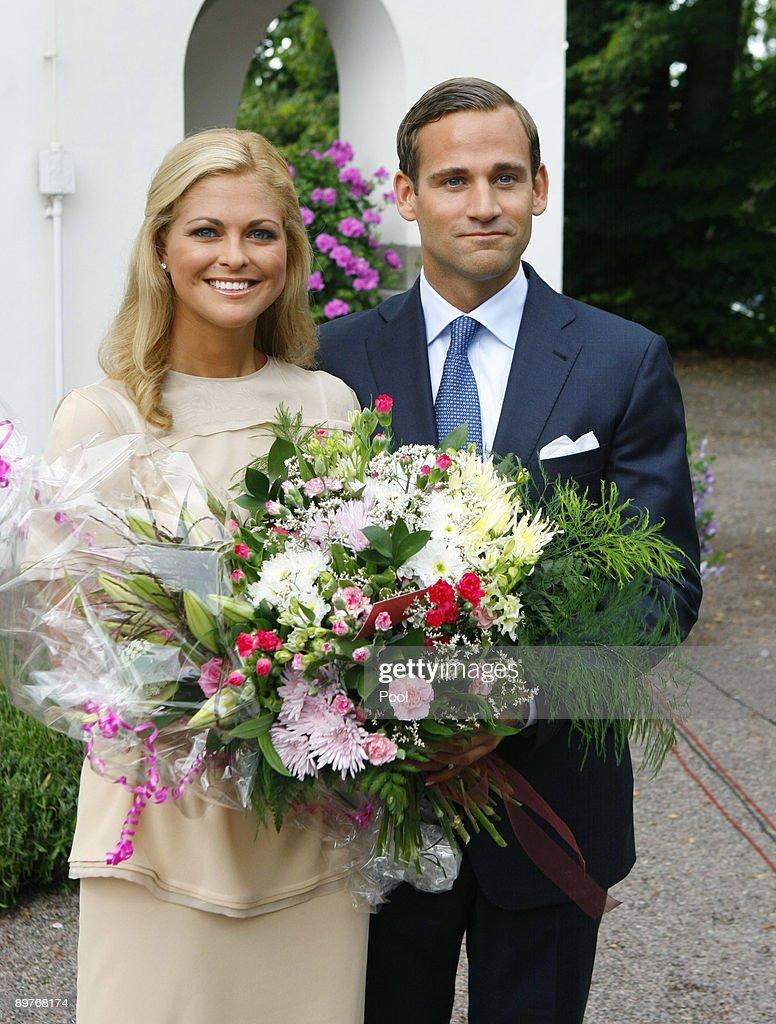 Sweden Princess Madeleine Announces Engagement : News Photo