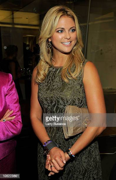 Her Royal Highness Princess Madeleine of Sweden attends the Launch of The World Childhood Foundation USA Campaign on SIRIUS XM at SIRIUS XM Studio on...