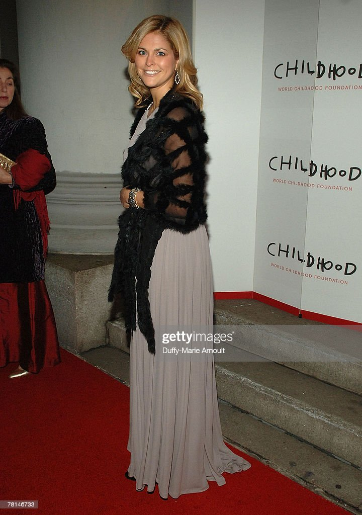 Her Royal Highness Princess Madeleine of Sweden attends the World Childhood Foundation USA Gala at 583 Park Avenue on November 12, 2007 in New York City.