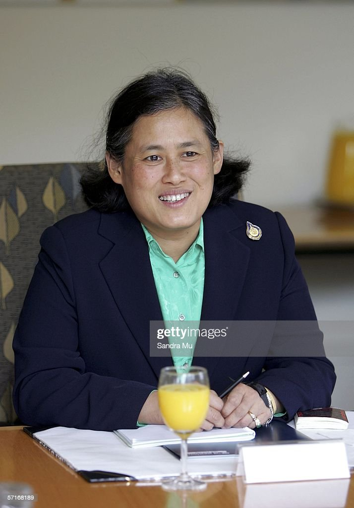Her Royal Highness Princess Maha Chakri Sirindhorn of Thailand smiles during her visit to Auckland University March 24, 2006 in Auckland, New Zealand. Princess Sirindhorn is in New Zealand for a three-day visit to Wellington, Palmerston North and Auckland.