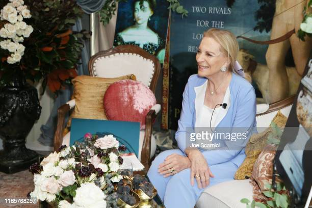 Her Royal Highness Princess Michael of Kent attends afternoon tea at Knife Pleat on November 05, 2019 in Costa Mesa, California.