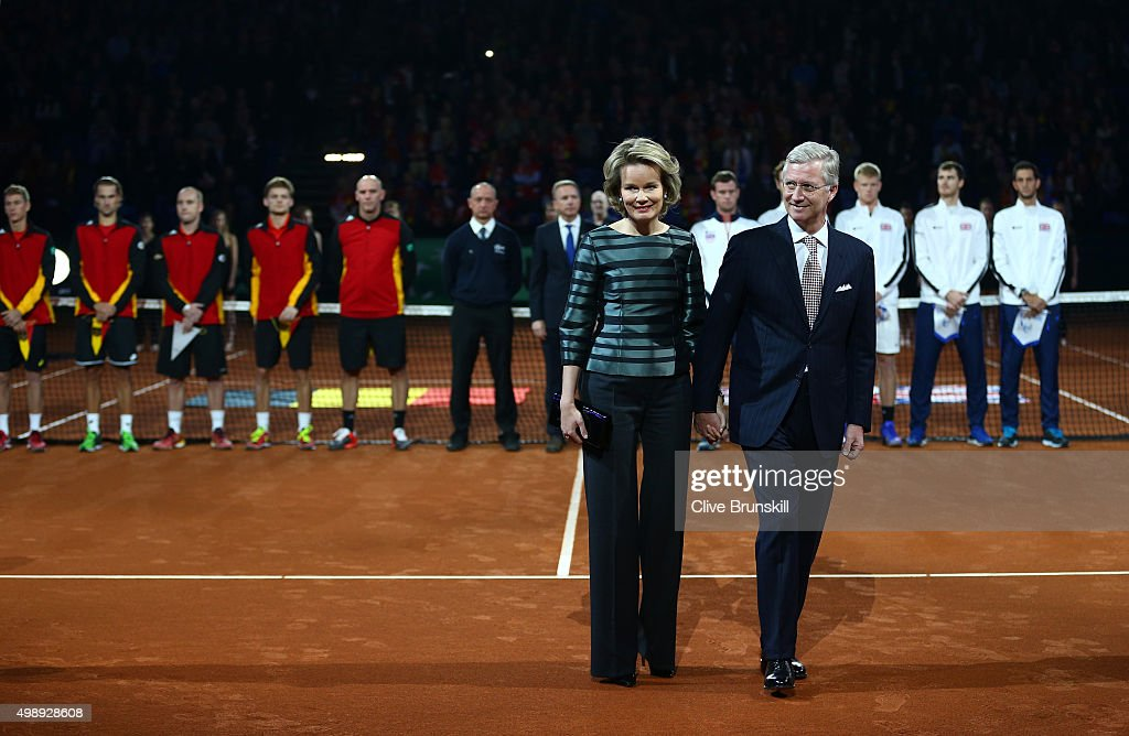 Belgium v Great Britain: Davis Cup Final 2015 - Day One : News Photo