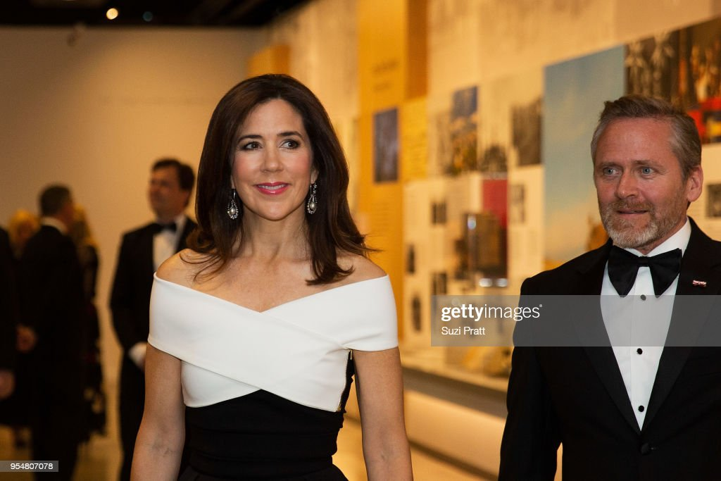 Her Royal Highness Crown Princess Mary Of Denmark Visits Seattle, WA : News Photo