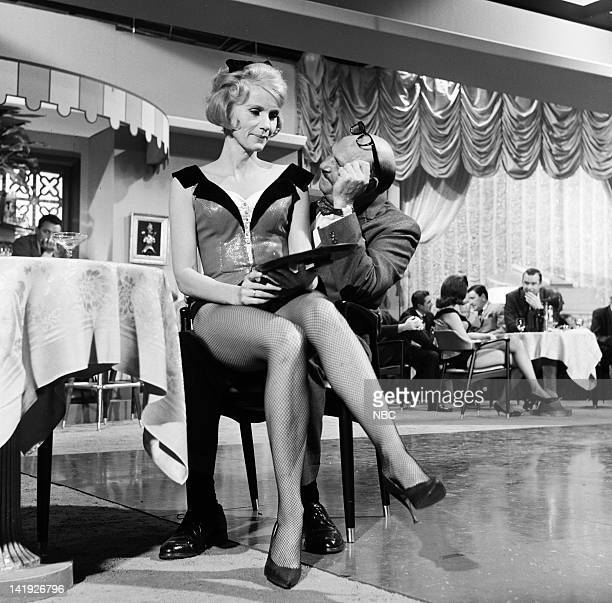 THEATRE 'Her School For Bachelors' Episode 120 Pictured Eva Marie Saint as Diane Wescott Jackie Coogan as customer