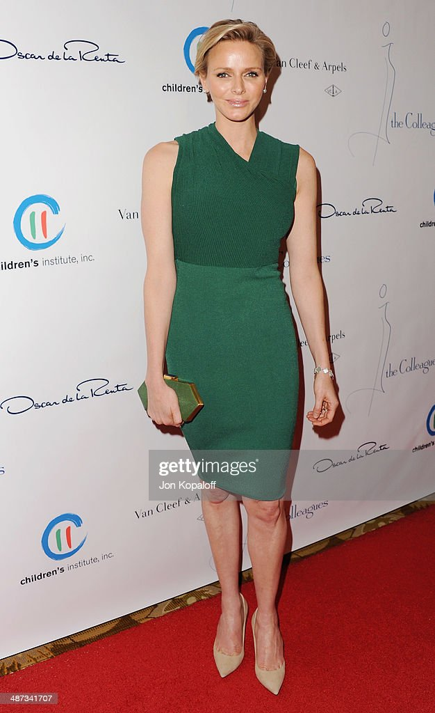 Her serene highness, Princess Charlene of Monaco attends The Colleagues' 26th Annual Spring Luncheon at Regent Beverly Wilshire Hotel on April 29, 2014 in Beverly Hills, California.