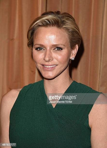 Her serene highness Princess Charlene of Monaco is honored with this year's Champion of Children Award at the Colleagues' 26th Annual Spring Luncheon...