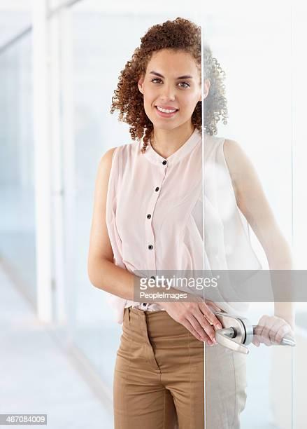 Her work ethic opens doors