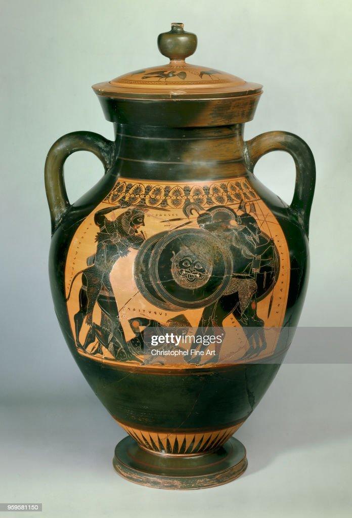Heracles And Geryon Amphora Of Exekias Attic Style 540 Bc Greek Art
