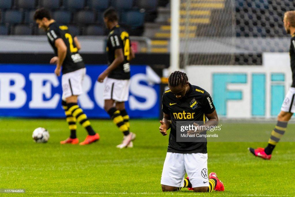 Heradi Rashidi Of Aik Praying During The Allsvenskan Match Between News Photo Getty Images