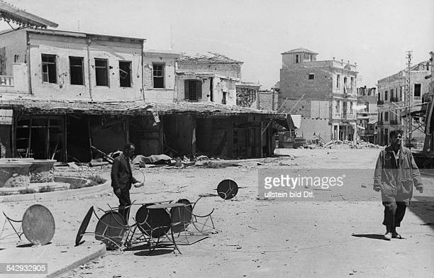 Heraklion shortly after the capture by German troops