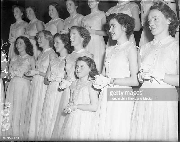 Herald Boot Fund Concert Dublin Girls choir 0/12/1952