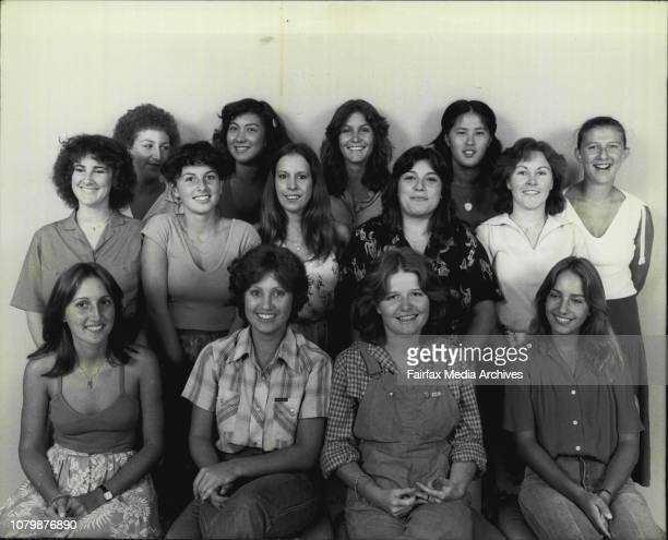 Herald office are members of the 1979 year 12 Class from Randwick North High SchoolNames L to R Back row Monica Winston 18 Mimi Ujlaki 18 Jayne...