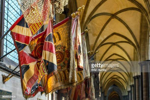 heraldic flags - coat of arms stock pictures, royalty-free photos & images