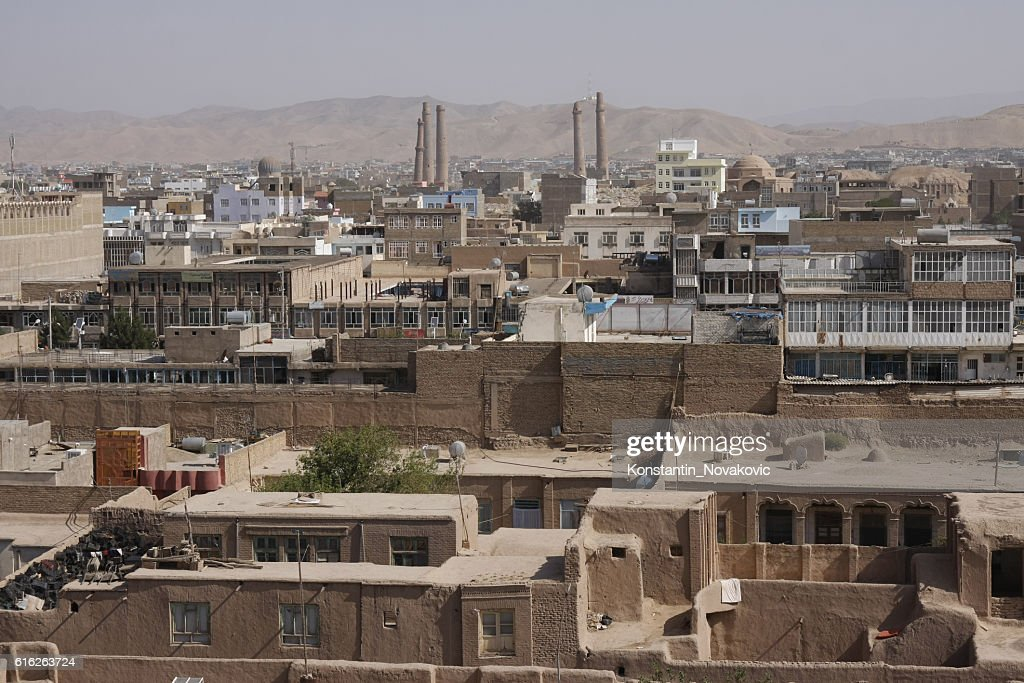 Herat old town, Afghanistan : Stock Photo