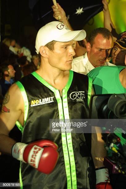 Herausforderer Danny Green WMTitelKampf Nürburgring Sport Boxen Boxhandschuh SportKleidung Boxer BaseballKappe Sportler Promi PNr 816/2003 NB...