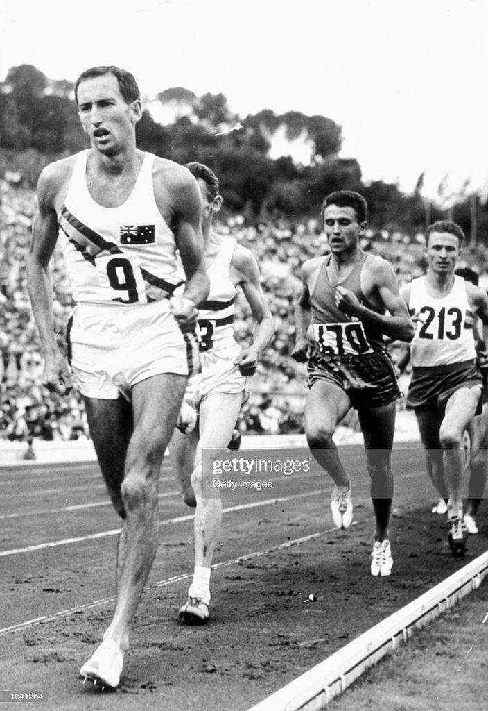 1960 Olympic Games Herb Elliott : News Photo