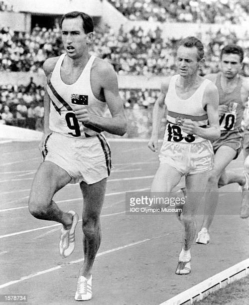 Herb Elliott of Australia stands a head above many multiple Olympic champions by his single victory in the 1500 metres at the Rome Games in 1960,...