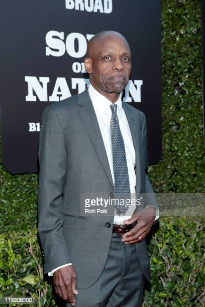 Herb Robinson attends The Broad Museum celebration for the opening of Soul Of A Nation Art in the Age of Black Power 19631983 Art Exhibition at The...