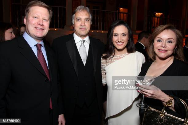 Herb Scannell Michelle CarusoCabrera and Maria Caruso attend BALLET HISPANICO'S 40th Anniversary Spring Gala at The Plaza on April 19 2010 in New...