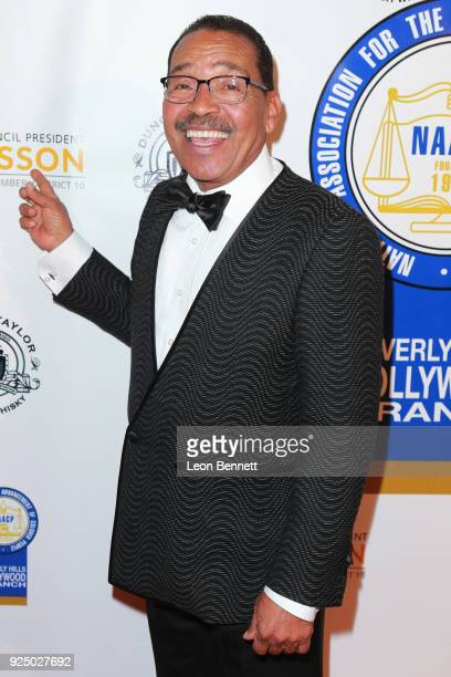 Herb Wesson attends the 27th Annual NAACP Theatre Awards at Millennium Biltmore Hotel on February 26 2018 in Los Angeles California