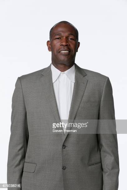 Herb Williams of the New York Liberty poses for a portrait at Media Day at MSG Training Center on May 4 2017 in Tarrytown New York NOTE TO USER User...