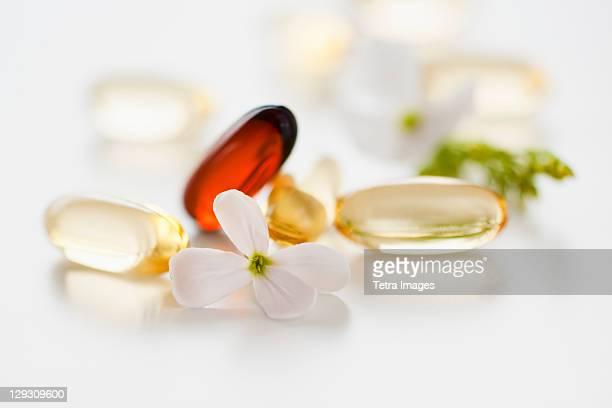Herbal medicine pills
