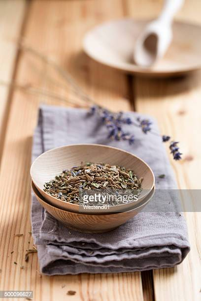 Herbal tea, Nursing tea in a bowl