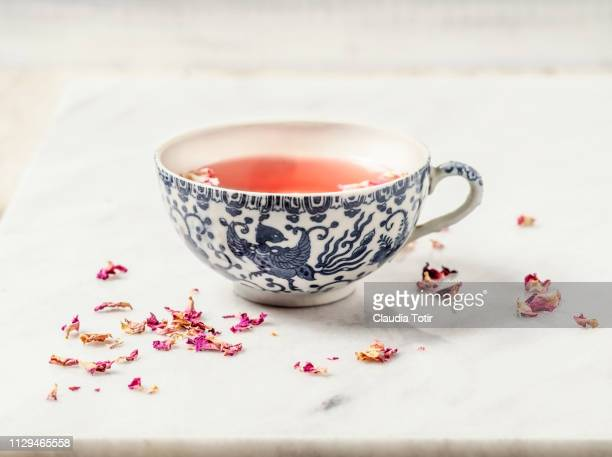 herbal tea - dried tea leaves stock pictures, royalty-free photos & images
