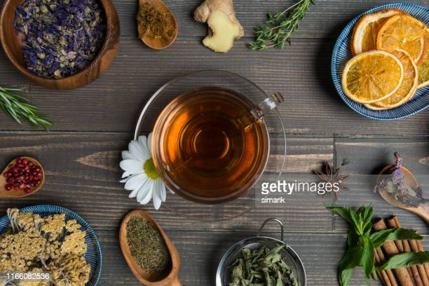 herbal tea - herbal tea stock pictures, royalty-free photos & images