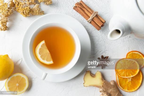 ハーブティー - 温かいお茶 ストックフォトと画像