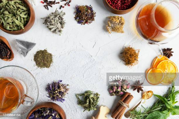 herbal tea - herbal medicine stock pictures, royalty-free photos & images